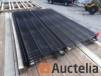 10 panels AXYLE C 3D HT 1m73RAL 9005