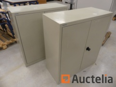 2 office table Cabinets