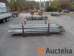 20 large trench struts ADRIA and COFFRAL