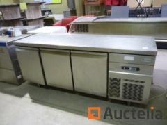3 Doors Refrigerated Cabinet Infrico BMGN1876118P