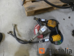 3 Pneumatic Angle grinders