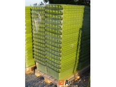30 Bins CURTEC Plastic embodying and stackable with metal handle