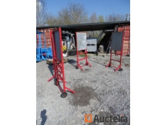 4 Fire roller panels for fire extinguishers