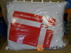 50 SWISS Classic anti-allergic pillows washable 70 x 60
