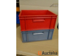 60 Bins Plastic Storage ALLIBERT stackable