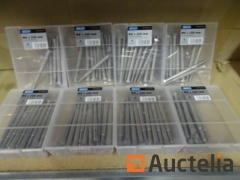80 bouten stainless steel M8 x 100
