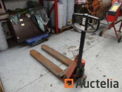 BT L23 U/12 Manual pallet truck with digital weighing