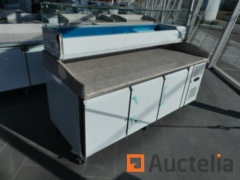 Chilled pizza Table, chilled Saladette Colin-Lucy PC700GC