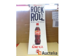 Coca-Cola Double-sided cardboard advertising poster