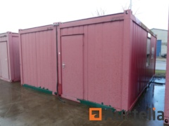 Double container fitted