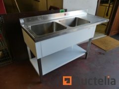 Double Sink on furniture