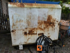 Double-walled Mazout tank 1200 litres