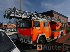 Fireman Truck with Carrycot Magirus 170 D 12F (1973-43.560 km)