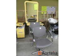 Furniture Double-sided hairdressing salon