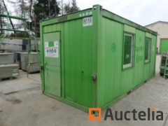 Insulated office container  20ft - Ref 8016