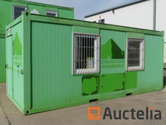 Insulated office container 20ft  -Ref 9695
