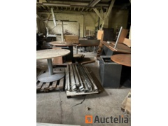 Lot of desks, chairs, cupboards etc.