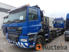 MATIS: 6121-Container truck (to be reconditioned or for parts) DAF AX85 MC5-7.5