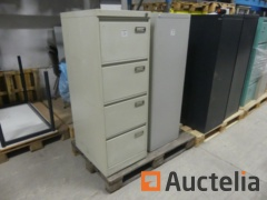 Metal cabinets for 4-Drawer hanging files