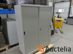 Metal cabinets for hanging files, 1cabinet 2 doors