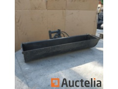 New bucket, with hydraulic turn for miniretro of 1.44m. Wide. - REF369