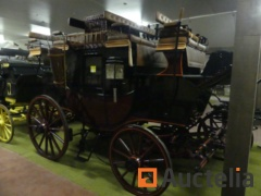New closed horse carriage 12 + 2 seats HANSMEIER COACH