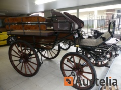 New horse carriage HANSMEIER JAGER BIG