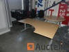 Office table, chairs various, drawer blocks,...