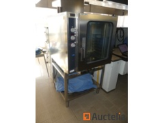 Professional stainless steel gas combi oven ZANUSSI 240124 05