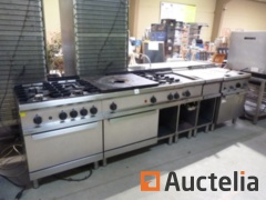 Professional Zanussi Gas Cooking Stove