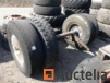 Rear axle mounted on double Michelin tires