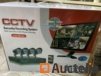 Security system with 4 cameras 4K HD Internet and 5g phone vieuwing