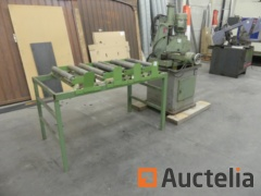 Semi automatic saw for metals Eisele VMS III PV