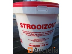 Snow removal Salt-72 buckets of 7.5 kg