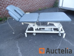 Table Electric massage with roller with FIRN remote control