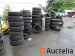 Tires various Michelin, Continental,...