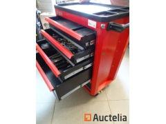 Tool Trolley 5 Drawers Stier