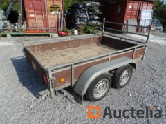 Trailer J C Beckers braked double axle