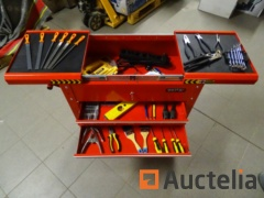Trolley with tools and Jigsaw