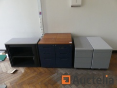 Vertical flap Drawer units and Cabinet