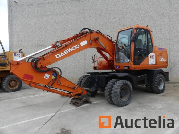 Wheeled, tracked and trailer excavators